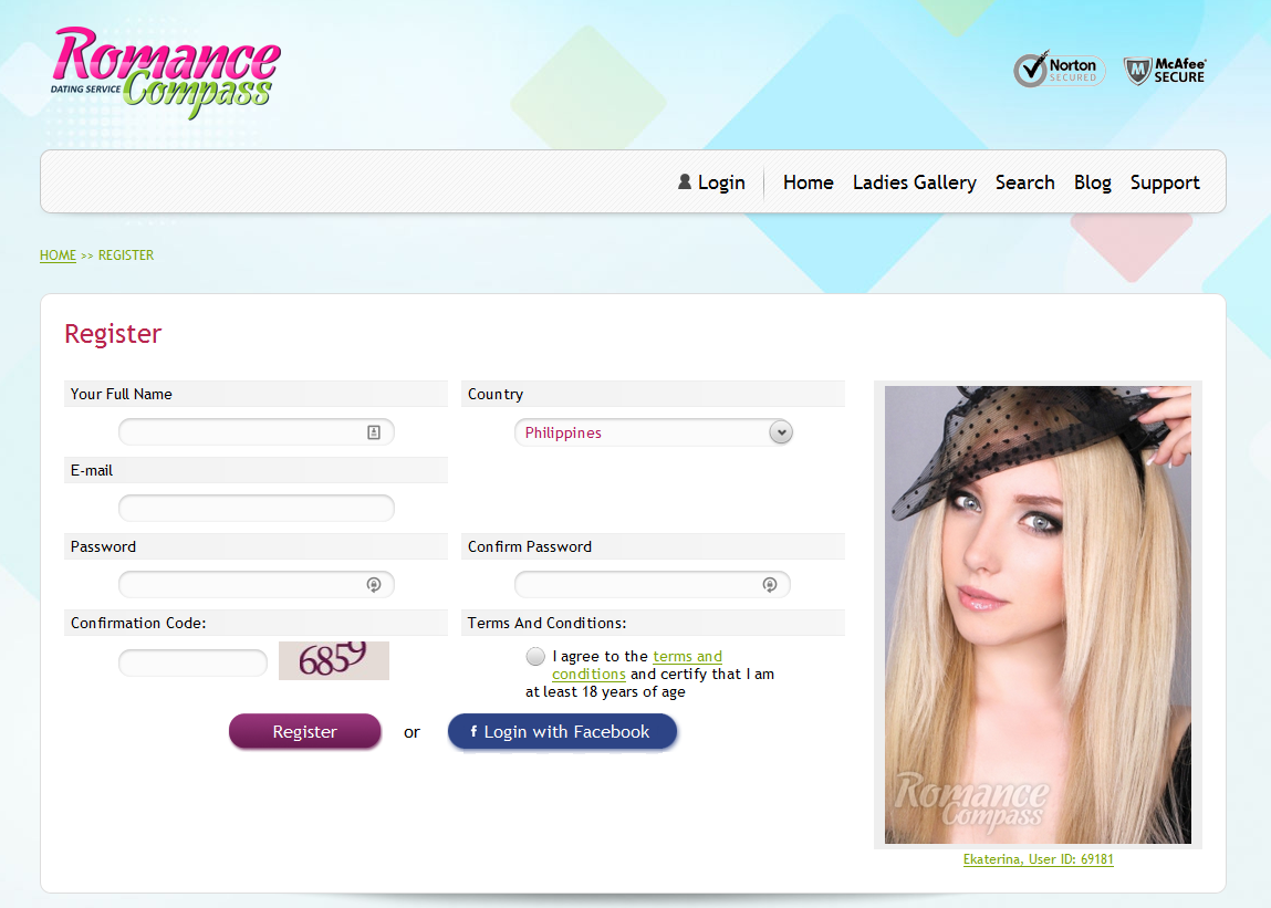 RomanceCompass Homepage2